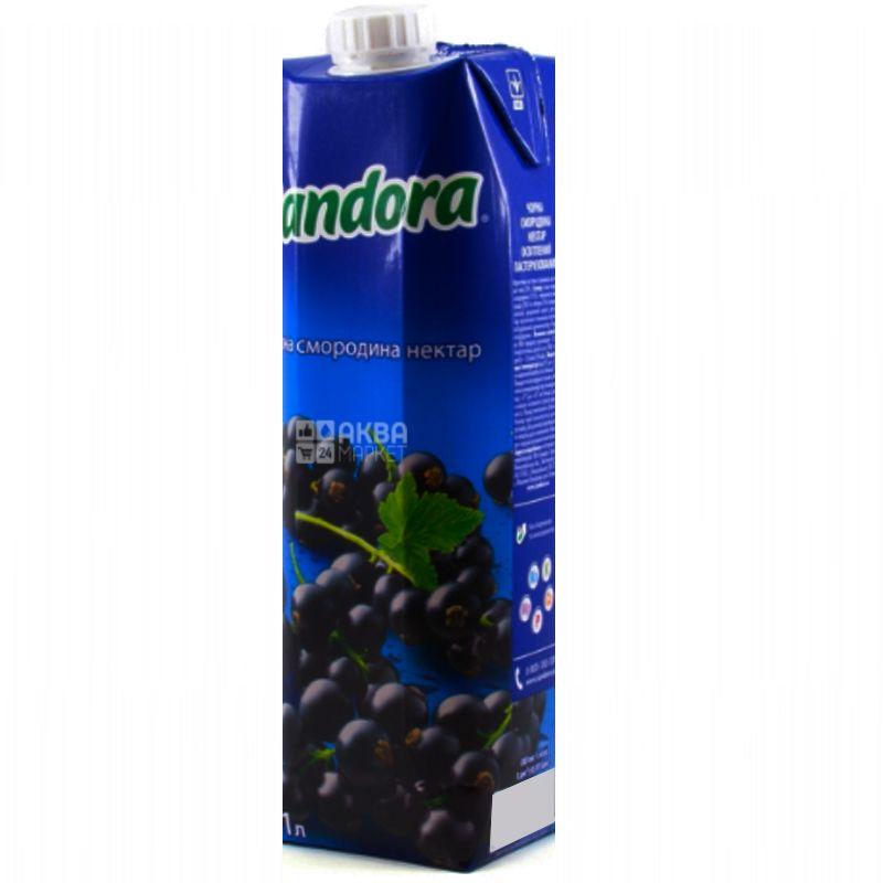 Sandora, Черная смородина, 0,95 л, Сандора, Нектар натуральный
