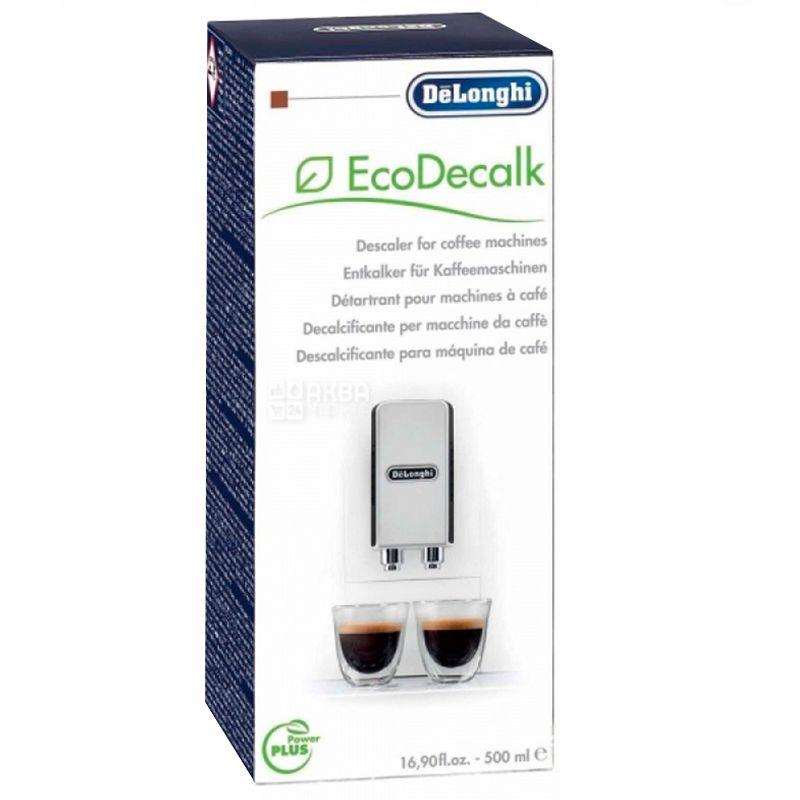 DeLonghi, 500 мл, Жидкость для удаления накипи, Для кофемашин, EcoDecalk