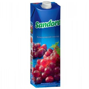 Sandora, 0,95 л, Нектар, Червоний виноград
