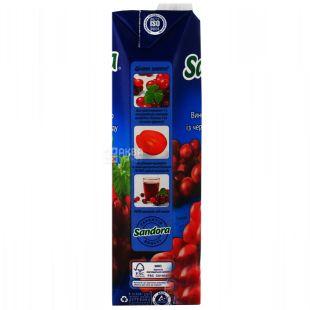 Sandora, Красный виноград, 0,95 л, Сандора, Нектар натуральный