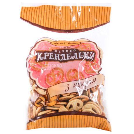 Київхліб, 260 г, Печиво, Крендельки з цукром,м/у