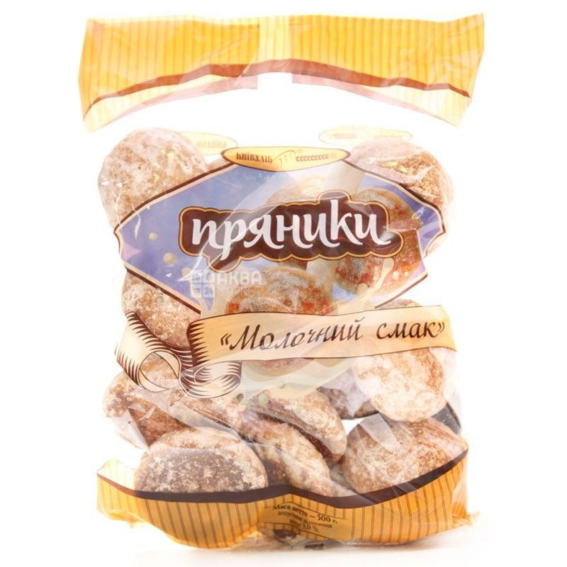 Київхліб, 420 г, Пряники, Молочний смак, м/у