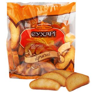 Kievkhleb, 260 g, Crackers, Mustard, m / s