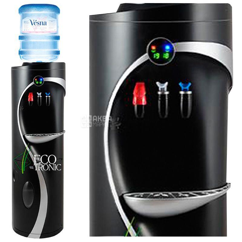 Ecotronic G4-LM Black, Кулер для воды с компрессорным охлаждением, напольный