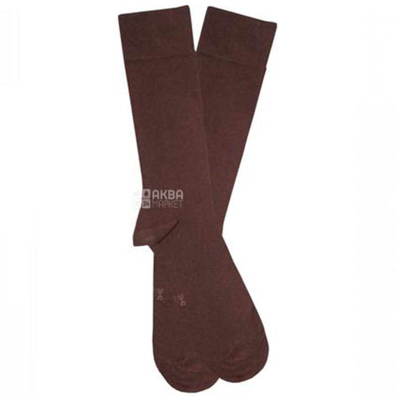 Duna, розмір 25-27, Шкарпетки чоловічі, Casual, Коричневі