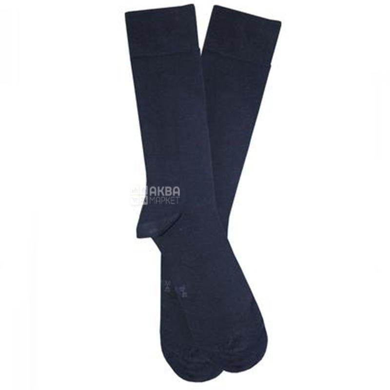 Duna, размер 25-27, Носки мужские, Casual, Темно-синие