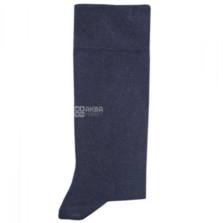 Duna, розмір 25-27, Шкарпетки чоловічі, Casual, Темно-сині