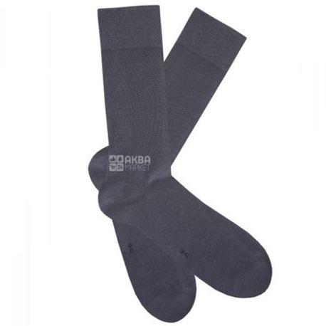 Duna, розмір 25-27, Шкарпетки чоловічі, Casual, Темно-сірі
