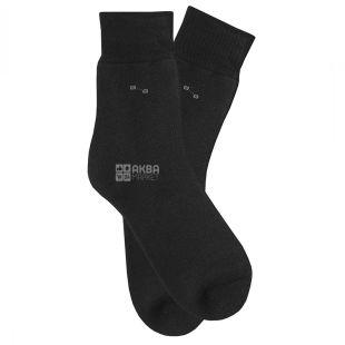 Duna, розмір 23-25, Шкарпетки чоловічі, Утеплені, Чорні