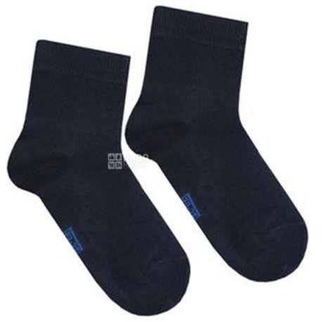 Duna, розмір 22-24, Шкарпетки дитячі, Бамбукові, Темно-сині