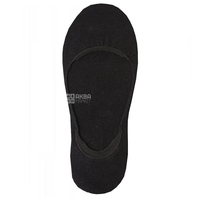 Duna, розмір 23, Шкарпетки-сліди жіночі, Чорні
