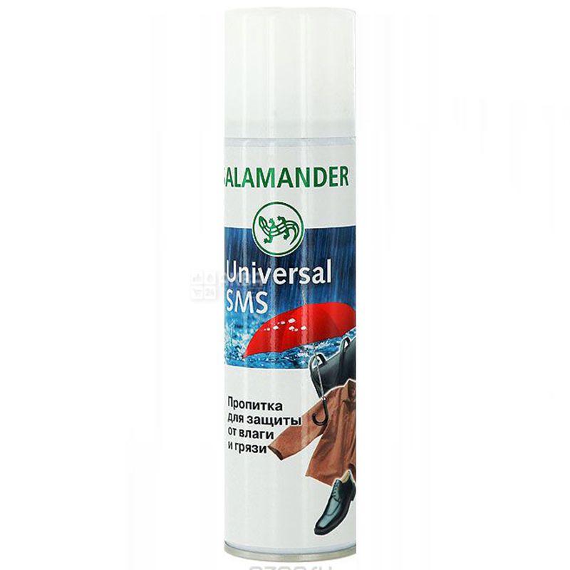 Salamander, 300 мл, Водовідштовхуючий спрей для взуття, Нейтральний, ж/б