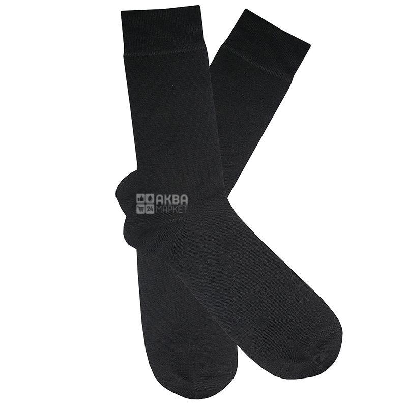 Duna, размер 27-29, Носки мужские, Черные