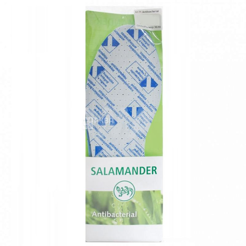 Salamander, 36-46 р, Устілки антибактеріальні, Для розкрою