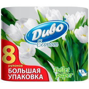 Divo Econom, 8 rolls, toilet paper