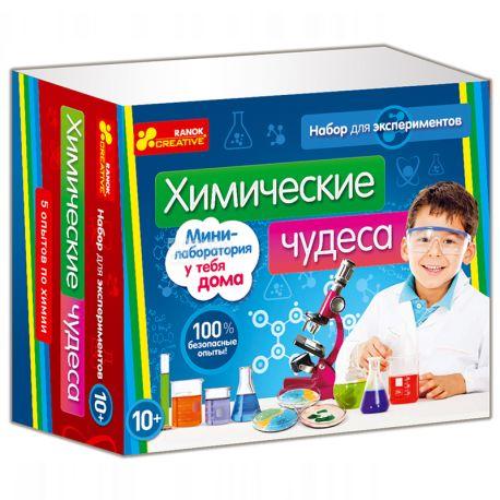 Ранок, Набор для экспериментов, Химические чудеса, картон