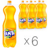Fanta, Packing 6 pcs. on 2 l, Sweet water, Orange, PET
