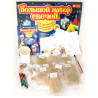 Wound, Set for creativity, Big set of candles 9 in 1, cardboard