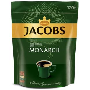 Jacobs Monarch, 120 г, Кофе растворимый, м/у
