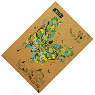 Mizar +, 96 sheets, A5, Notepad, ECO, Butterflies, Cage