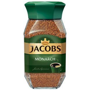 Jacobs Monarch, 95 г, Кава Якобс Монарх, розчинна, скло
