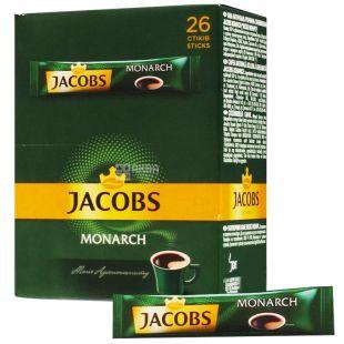 Jacobs Monarch, Instant coffee sticks, 26 pcs.