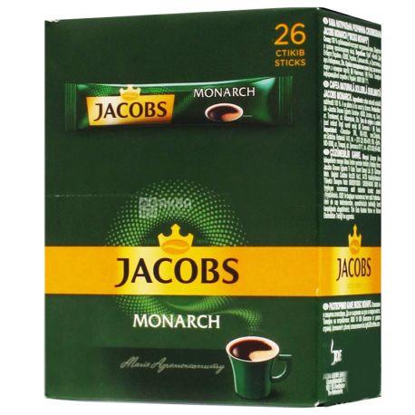 Jacobs Monarch, Кофе растворимый в стиках, 26 шт.