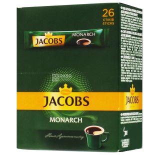 Jacobs Monarch, Кава розчинна в стіках, 26 шт.