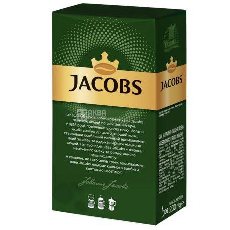 Jacobs Monarch, 230 г, Кава Якобс Монарх Класичний, середнього обсмаження, мелена