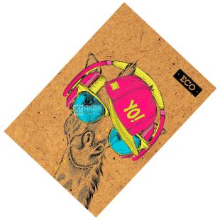 Mizar +, 160 sheets, A5, Notepad, ECO, Giraffe