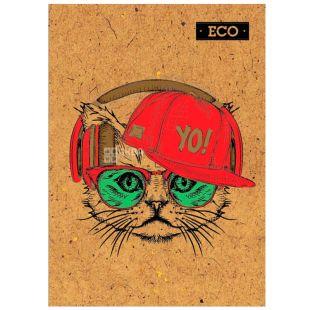 Mizar +, 160 sheets, A5, Notepad, ECO, Cat, cage
