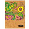 Mizar +, 160 sheets, A5, Notepad, ECO, Ornament, Cell