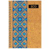 Mizar +, 80 sheets A6, Notepad, ECO, Embroidery, Spring, Cell
