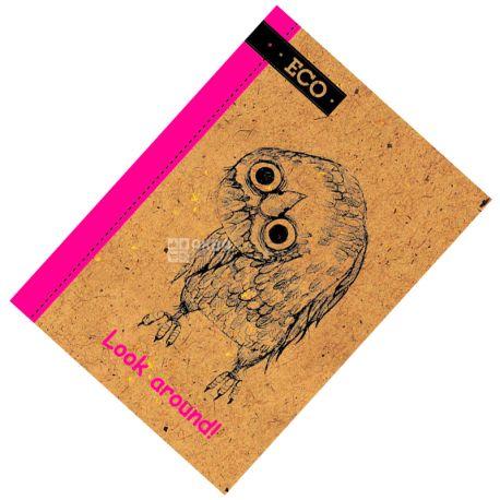 Mizar+ Eco, Блокнот Осмотрись, 48 листов, А6, Клетка