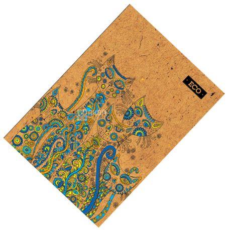 Mizar+, 80 листов, А4, Блокнот, ECO, Коты, Клетка