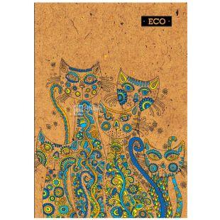 Mizar +, 80 sheets, A4, Notepad, ECO, Cats, Cage