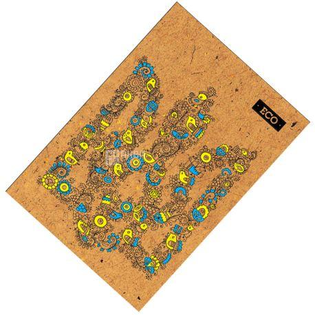 Mizar+, 80 листов, А4, Блокнот, ECO, Герб, Клетка