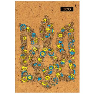 Mizar +, 80 sheets, A4, Notepad, ECO, Coat of arms, Cell