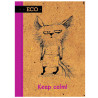 Mizar+, 48 листов, А6, Блокнот, ECO, Keep сalm, Клетка