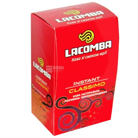 Lacomba Instant Classimo, 20 шт. х 2 г, Кофейный напиток Лакомба Инстант Классимо, в стиках