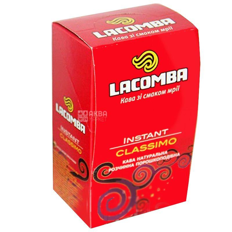 Lacomba Instant Classimo, 20 шт. х 2 г, Кавовий напій Лакомба Інстант Классімо, в стіках