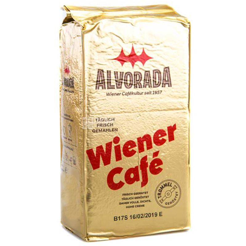 Alvorada, 250 г, кофе молотый, Wiener Kaffee