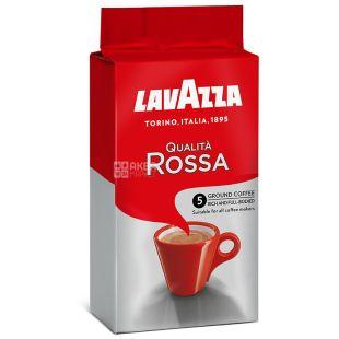Lavazza, Qualita Rossa, 250 г, Кава Лаваца, Куаліта Росса, середнього обсмаження, мелена