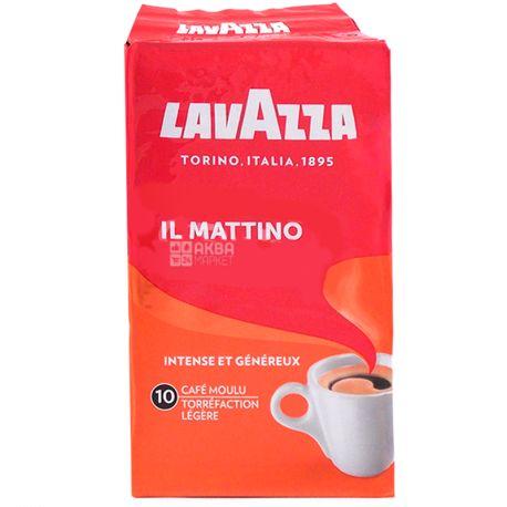Lavazza, il Mattino, 250 г, Кава Лаваца, Іл Маттіно, темного обсмаження, мелена