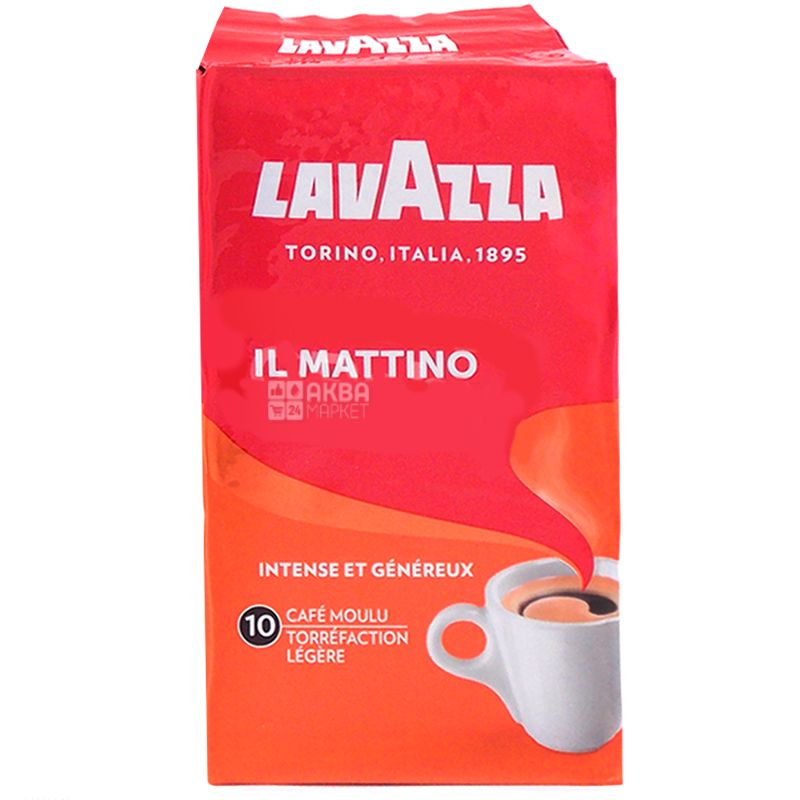 Lavazza il Mattino, ground coffee, 250 g