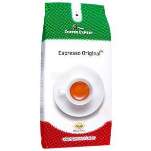 Coffee Expert Espresso Original, 1 кг, Кофе Эксперт Эспрессо Ориджинал, средней обжарки, в зернах