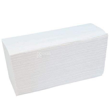 KATRIN, Classic, 150 листов, Бумажные полотенца Катрин, 2-х слойные ZZ-сложения, 22.4х23 см