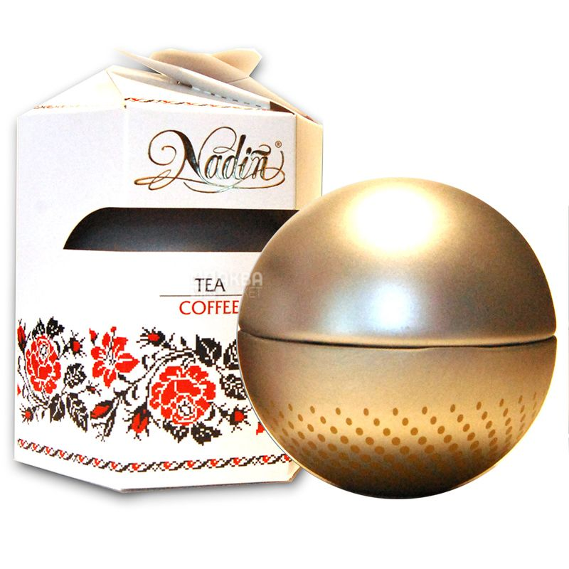 Nadin, 150 g, Tea black, Pearl of Ceylon, Large Leaf, w / w