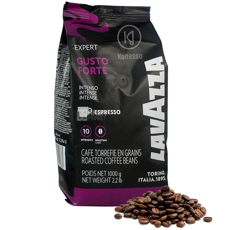 Lavaza Espresso Vending Gusto Forte, Кофе в зернах, 1 кг