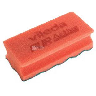 Vileda, Sponge, Profi Pur Active, Red, m / y